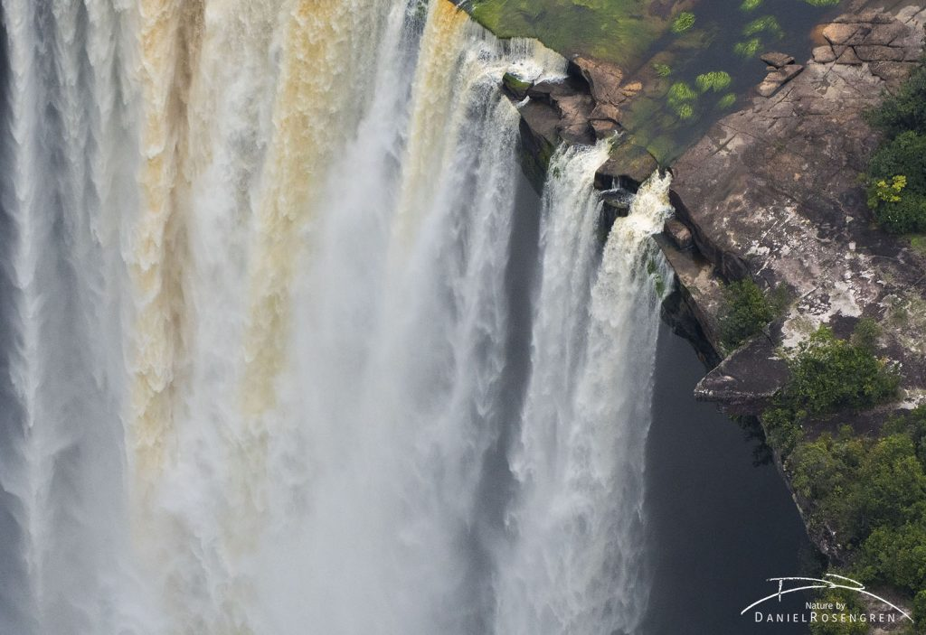 A close up of the Kaieteur Falls. © Daniel Rosengren