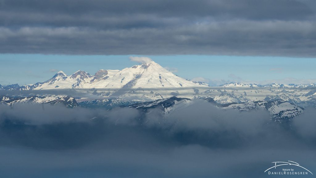 The Iliamna volcano is nearby. © Daniel Rosengren